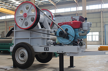Small Mobile Diesel Engine Jaw Crusher