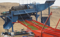 Mobile Trommel Gold Wash Plant